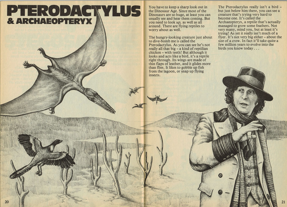 I don't think ANYONE would mistake that Pterodactylus for a bird.